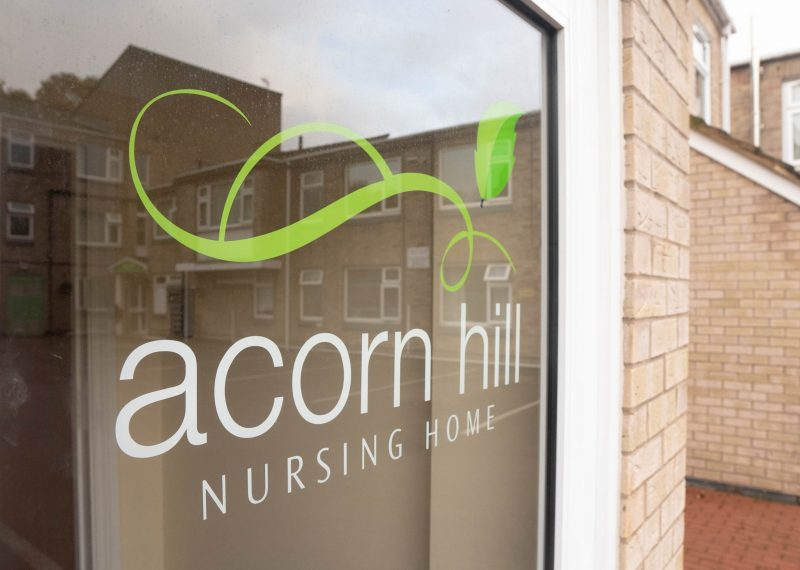 care home in leicester acorn hill